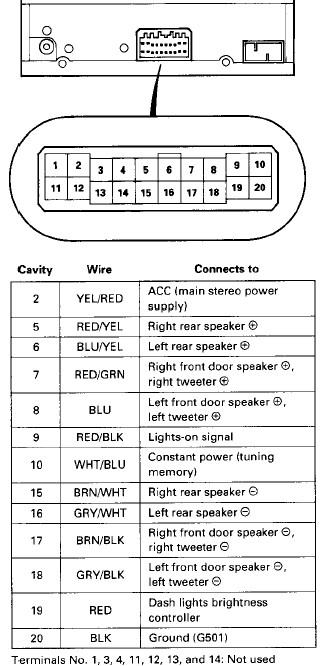 92 civic stereo wiring diagram ds 2958  88 honda radio wiring diagram  ds 2958  88 honda radio wiring diagram