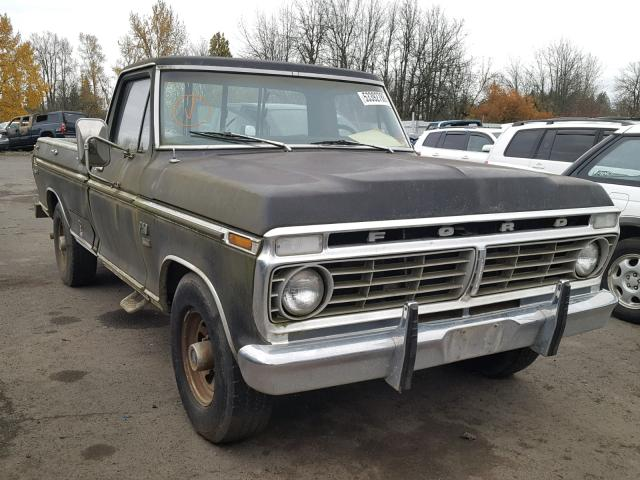 Surprising Auto Auction Ended On Vin F25Hrr90778 1973 Ford Ranger Xlt In Wiring Cloud Monangrecoveryedborg