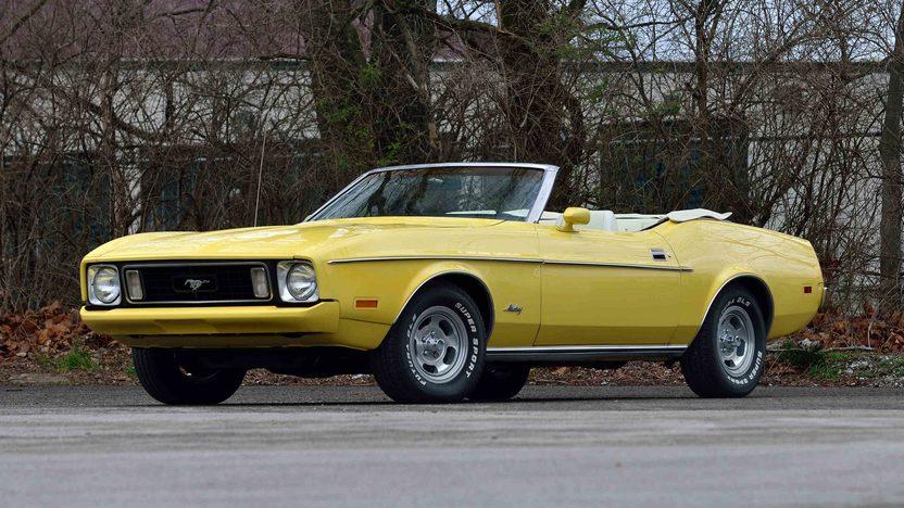 Awe Inspiring 1973 Ford Mustang Convertible T158 Indy 2016 Wiring Cloud Uslyletkolfr09Org
