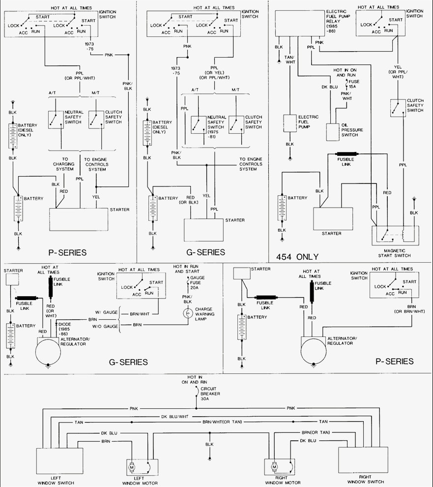 Ge 0994  Truck Wiring Diagram 1977 Chevy Gmc C5 C6 Truck