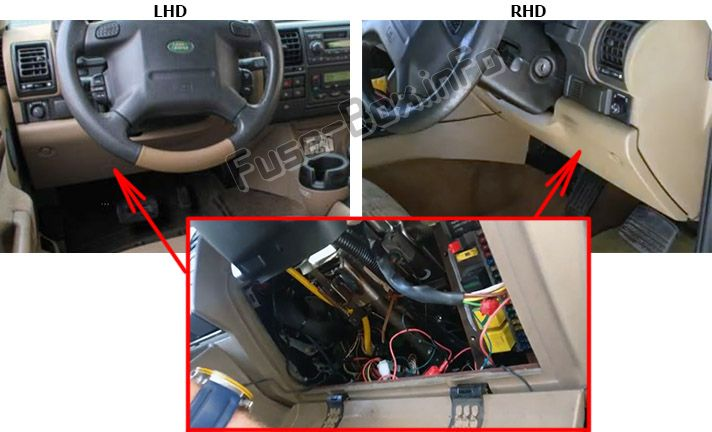 2004 land rover range rover fuse box diagram be 9141  land rover discovery fuse box diagram diagram of land  land rover discovery fuse box diagram