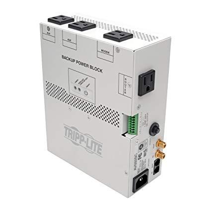 Awe Inspiring Amazon Com Tripp Lite 550Va Audio Video Backup Power Block Ups Wiring Cloud Faunaidewilluminateatxorg