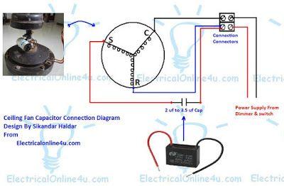 CE_6644] Vintage Fan Capacitor Wiring Diagram Free Diagram
