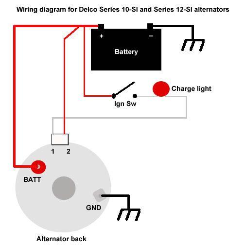 KE_4239] 3 Wire Alternator Wiring Diagram 62 Impala Download Diagram