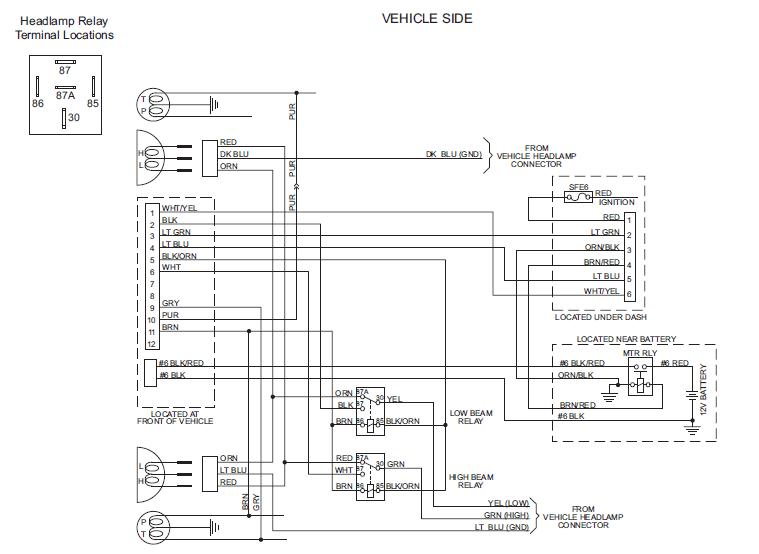 Terrific Western Wiring Harness Basic Electronics Wiring Diagram Wiring Cloud Mousmenurrecoveryedborg