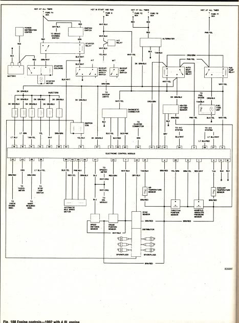 1993 jeep yj wiring diagram  1978 ford bronco alternator