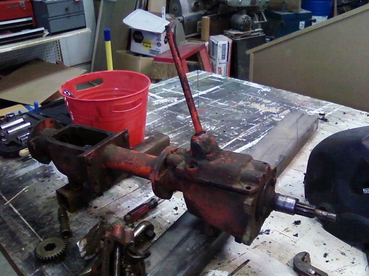 Groovy Power King Economy Tractor Restoration Fixing Jammed Transmission Wiring Cloud Waroletkolfr09Org