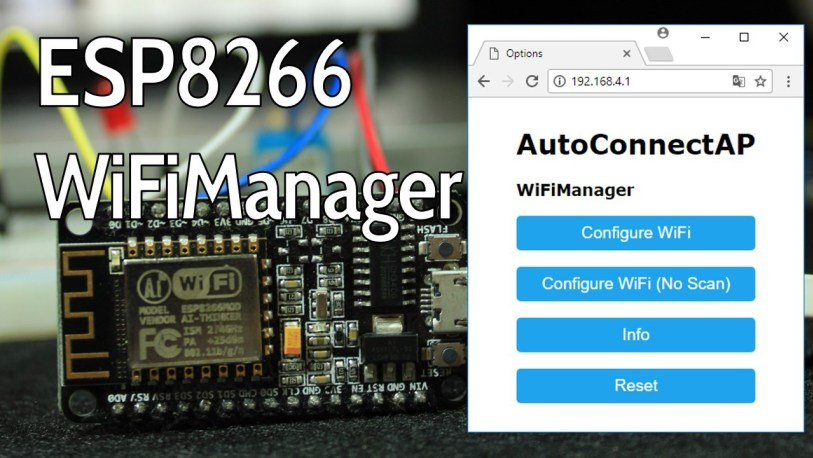 Awesome Wifimanager With Esp8266 Autoconnect Custom Parameter And Manage Wiring Cloud Hemtshollocom