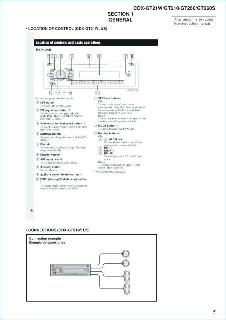 ox0458 sony cdx r3000 car radio wiring diagram free diagram