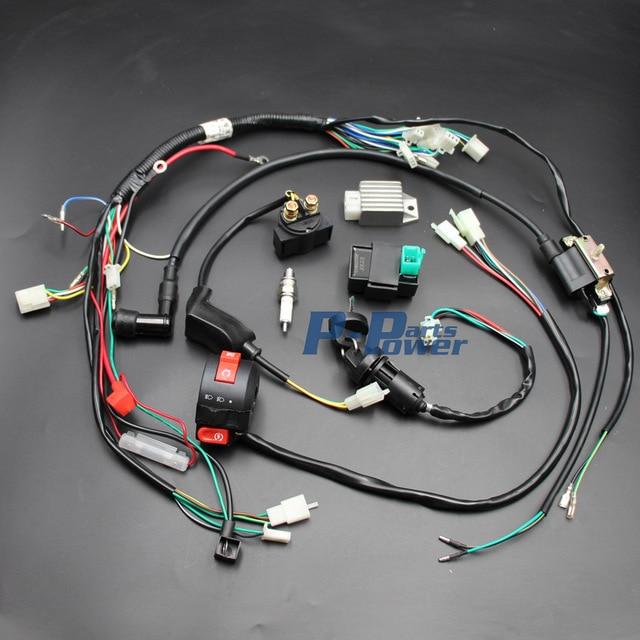 Pleasing 110Cc Chinese Atv Wiring Harness Basic Electronics Wiring Diagram Wiring Cloud Domeilariaidewilluminateatxorg