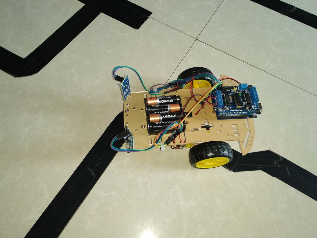 Phenomenal How To Make Line Follower Robot Using Arduino 5 Steps Wiring Cloud Eachirenstrafr09Org