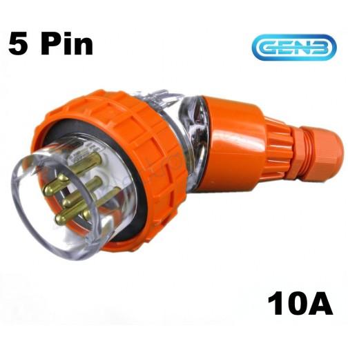 3 Phase 5 Pin Plug Wiring Diagram