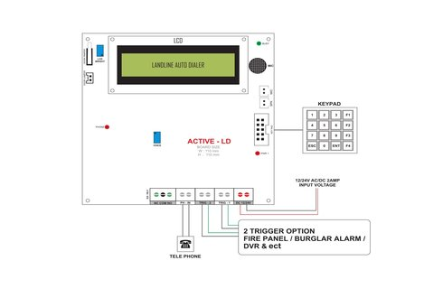 Cn 3538 Automatic Automotive Burglar Alarm Circuit Diagram