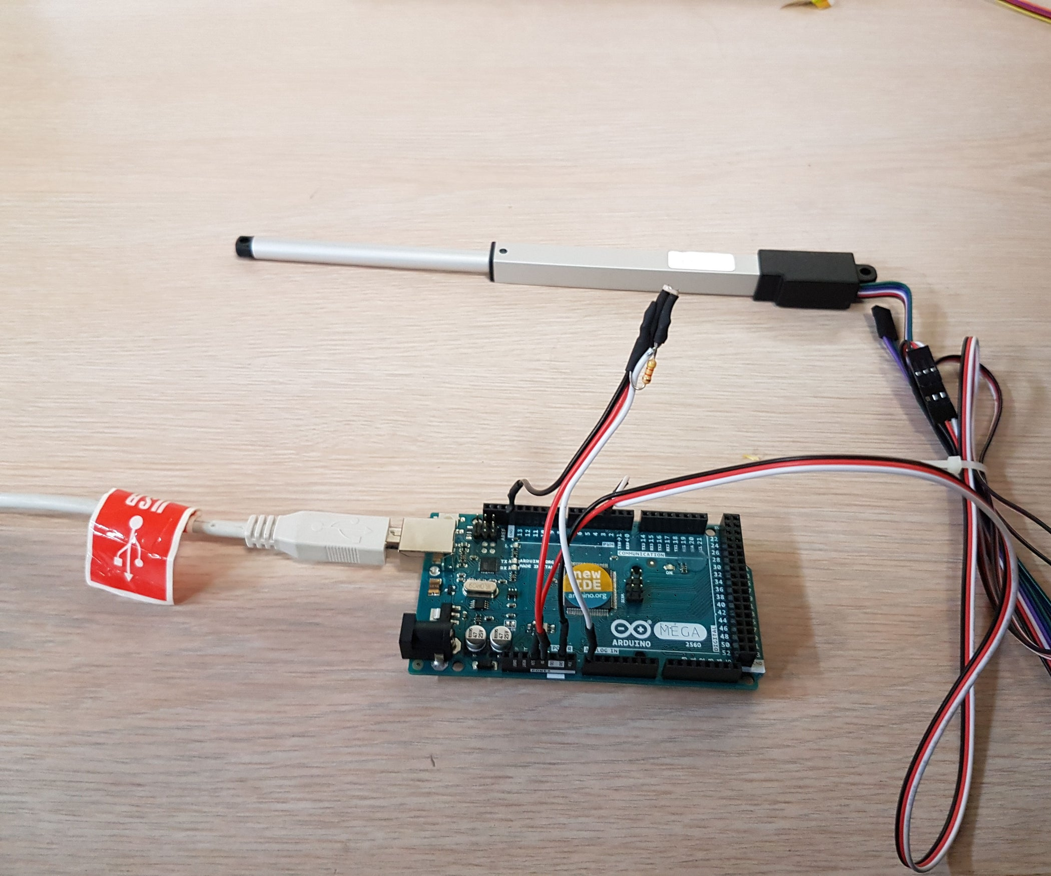 Phenomenal Using A Linear Actuator With Arduino And Photoresistor 3 Steps Wiring Cloud Intelaidewilluminateatxorg