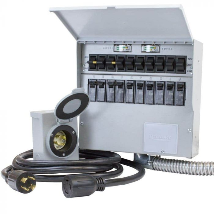 Excellent Reliance Controls Pro Tran 2 Manual Transfer Switch Kit 10 Circuit Wiring Cloud Orsalboapumohammedshrineorg