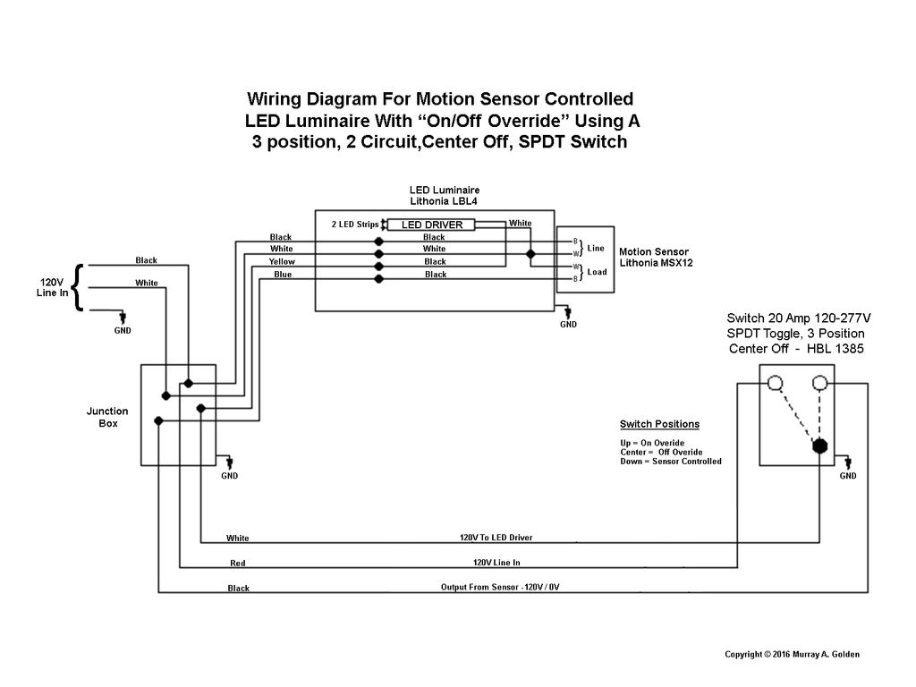 Sx 0359  Ceiling Light With Sensor Wiring Diagram Wiring