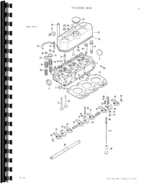 Massey Ferguson 1020 Wiring Diagram