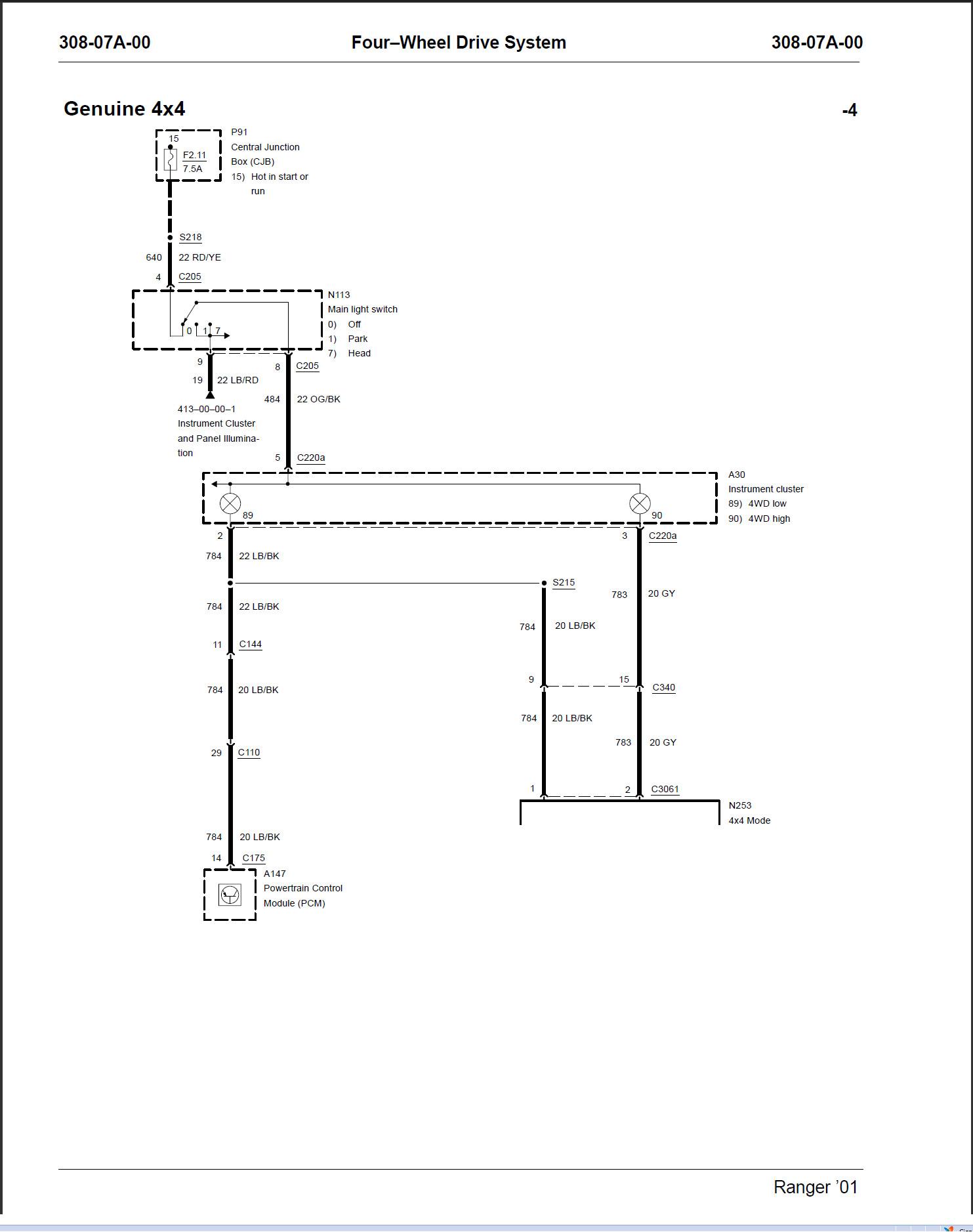 2001 f150 starter wiring diagram mx 7570  ford f150 starter wiring diagram wwwjustanswercom  ford f150 starter wiring diagram