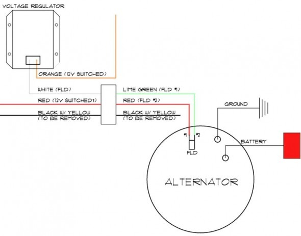 delco remy alternator wiring diagram logic control diagram
