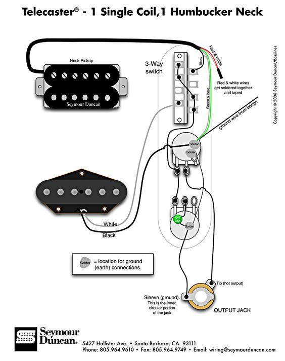 Fantastic Telecaster Wiring Diagram Humbucker Single Coil Cbg In 2019 Wiring Cloud Licukshollocom