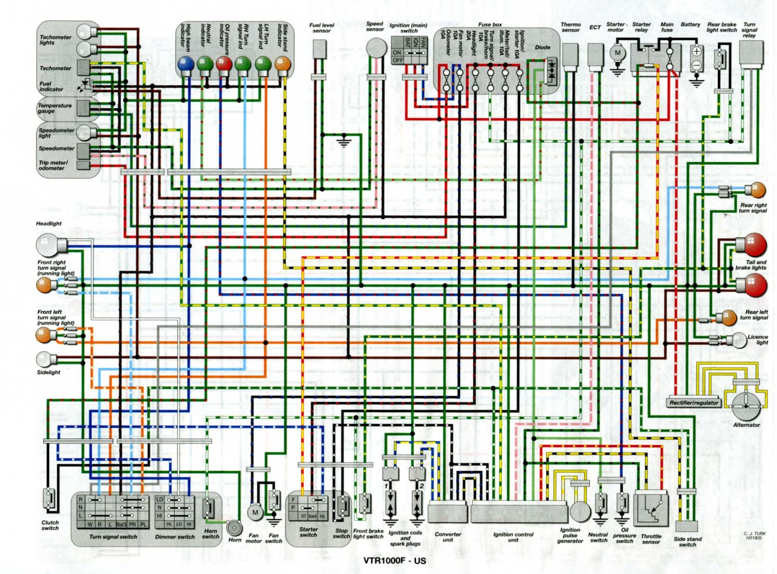 Wire Schematic 2005 Cbr1000rr Wiring Diagram For 2010 Toyota Camry Air Bag Tukune Jeanjaures37 Fr