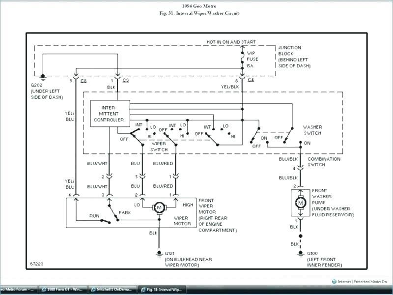 1991 Geo Metro Radio Wiring Diagram