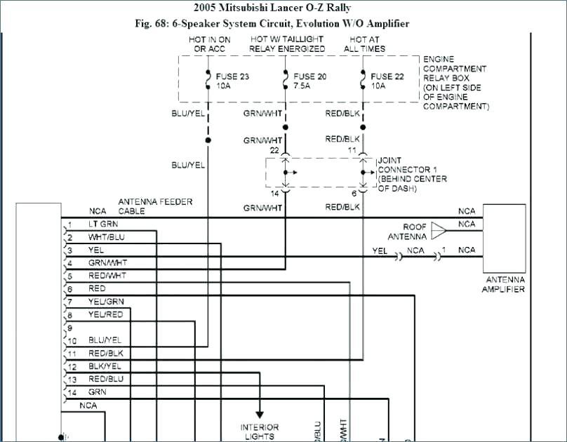 Mitsubishi L200 Headlight Wiring Diagram