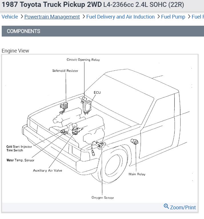 22re cold start wiring diagram gg 0603  hood wiring diagram on 1989 toyota pickup fuel pump  wiring diagram on 1989 toyota pickup