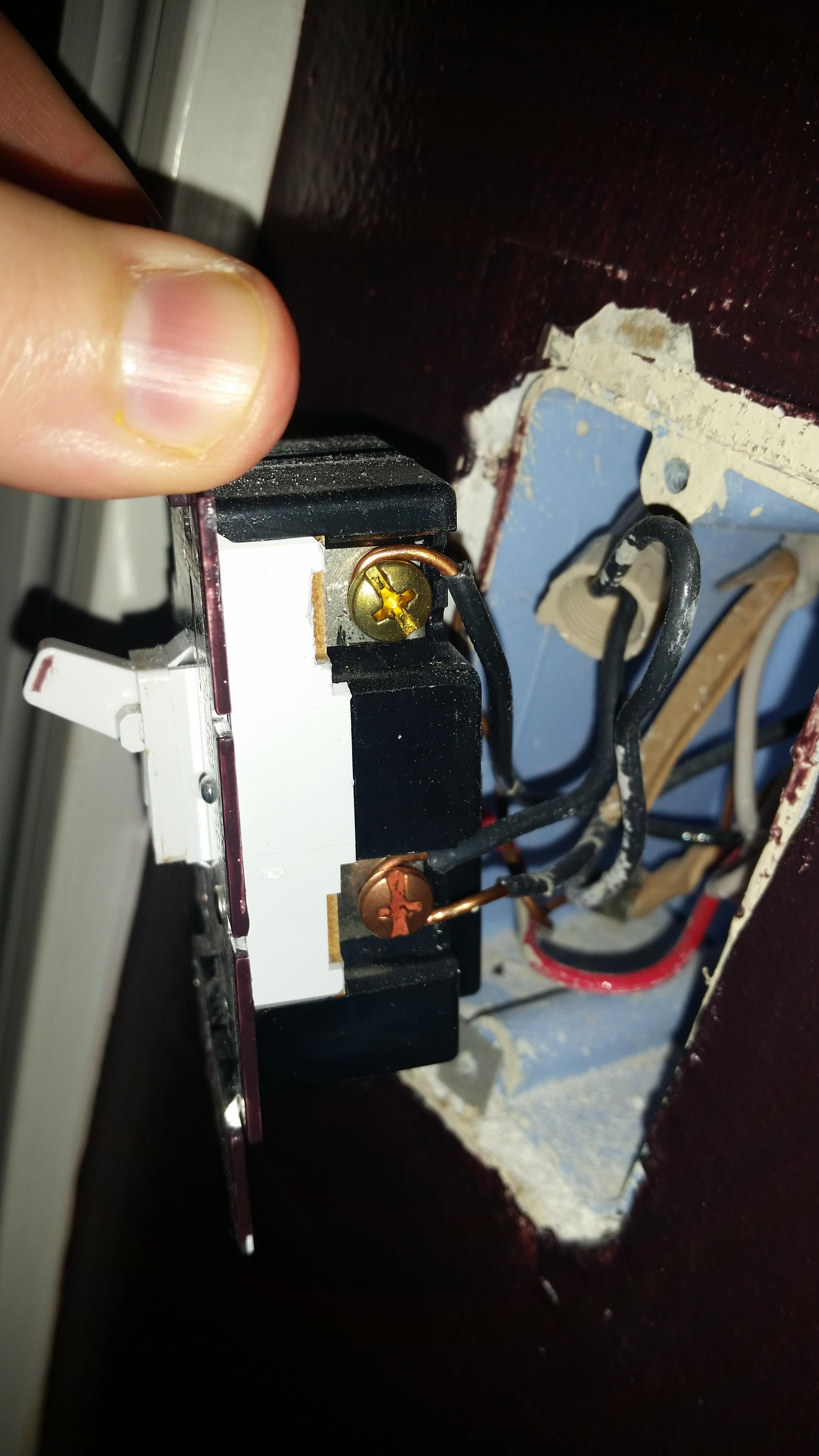 Stupendous Electrical Replacing 3 Way Dimmer Switch With 3 Way Switch Home Wiring Cloud Timewinrebemohammedshrineorg