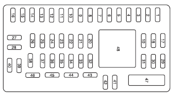 Strange 08 Mustang Fuse Box Diagram Basic Electronics Wiring Diagram Wiring Cloud Onicaalyptbenolwigegmohammedshrineorg