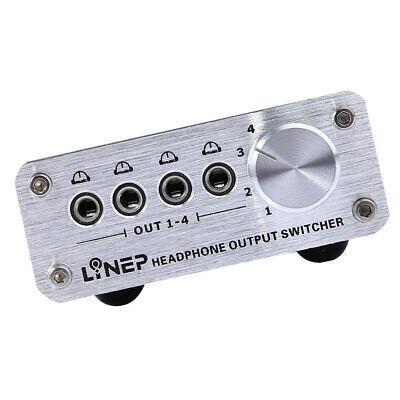 Awe Inspiring 4 Port 3 5Mm Stereo Manual Sharing Switch Aux Audio Speaker Selector Wiring Cloud Uslyletkolfr09Org