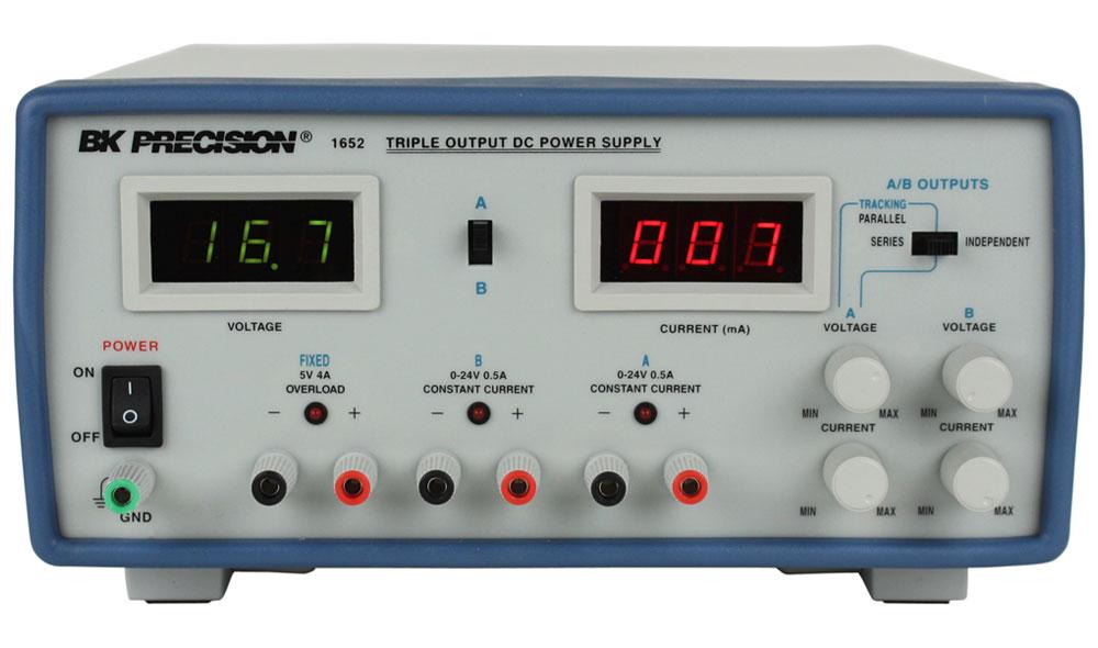Fantastic Model 1651A Triple Output Dc Power Supplies Bk Precision Wiring Cloud Rineaidewilluminateatxorg