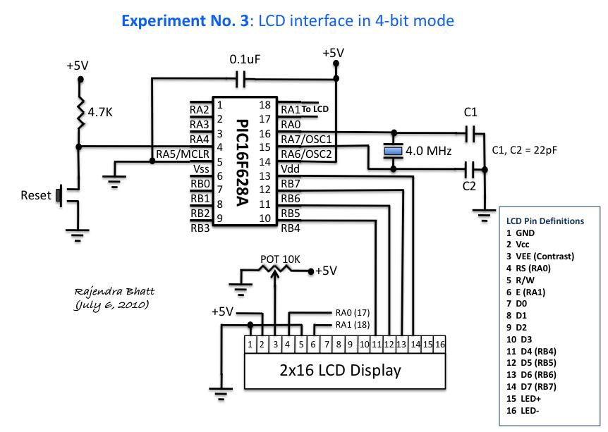 Awesome Experiment No 3 Lcd Interface In 4 Bit Mode Wiring Cloud Vieworaidewilluminateatxorg