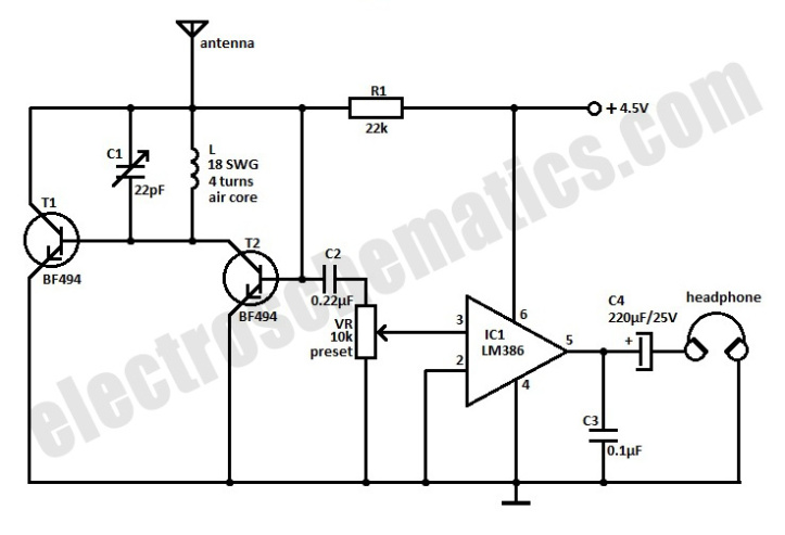bd 3429  pocket fm receiver circuit diagram wiring diagram