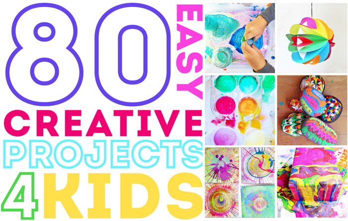 Strange 80 Easy Creative Projects For Kids Babble Dabble Do Wiring Cloud Overrenstrafr09Org