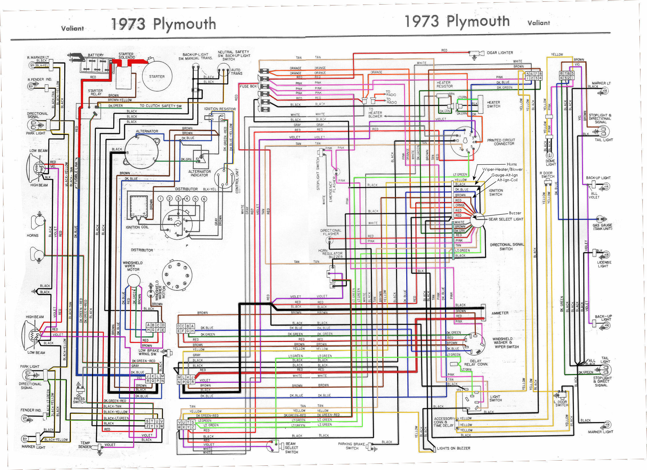1969 Mopar Wiring Diagram