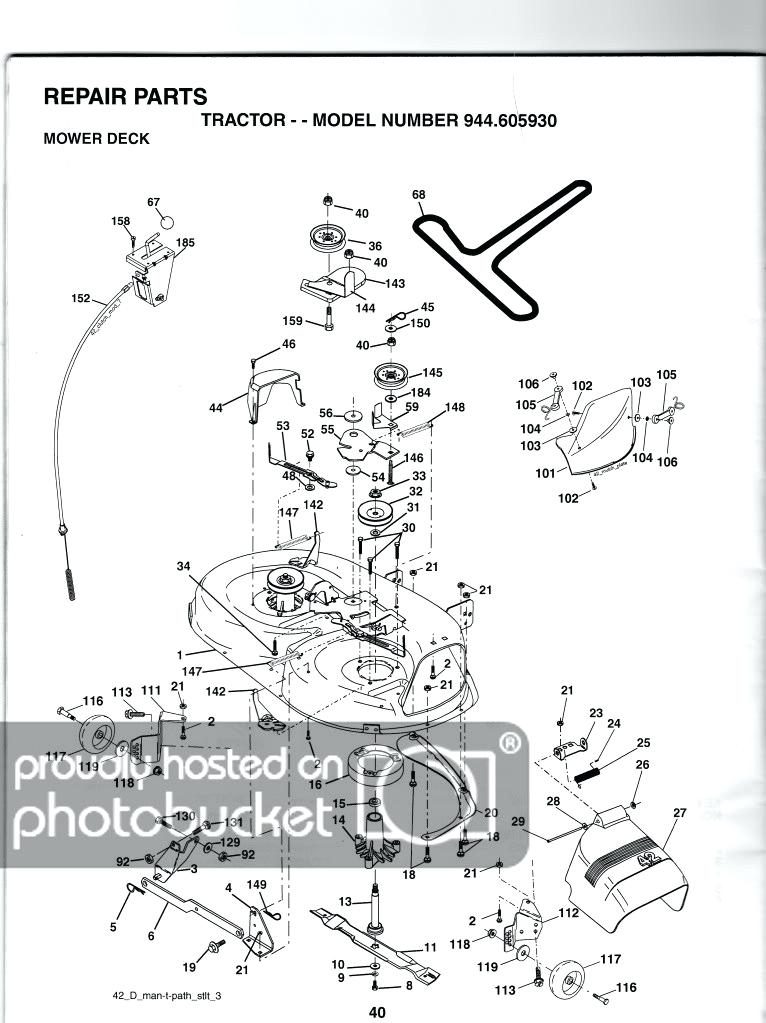bn0091 mower deck removal wiring harness wiring diagram