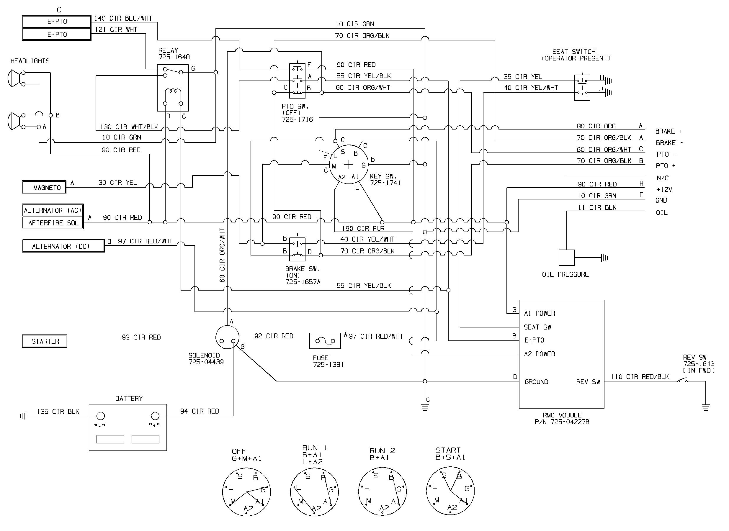 40 Cub Cadet Wiring Diagram   Art Wiring Diagram Free Picture ...