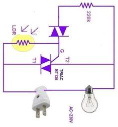 Terrific 20 Best Light Sensor Switch Circuits Images Electrical Engineering Wiring Cloud Hemtegremohammedshrineorg