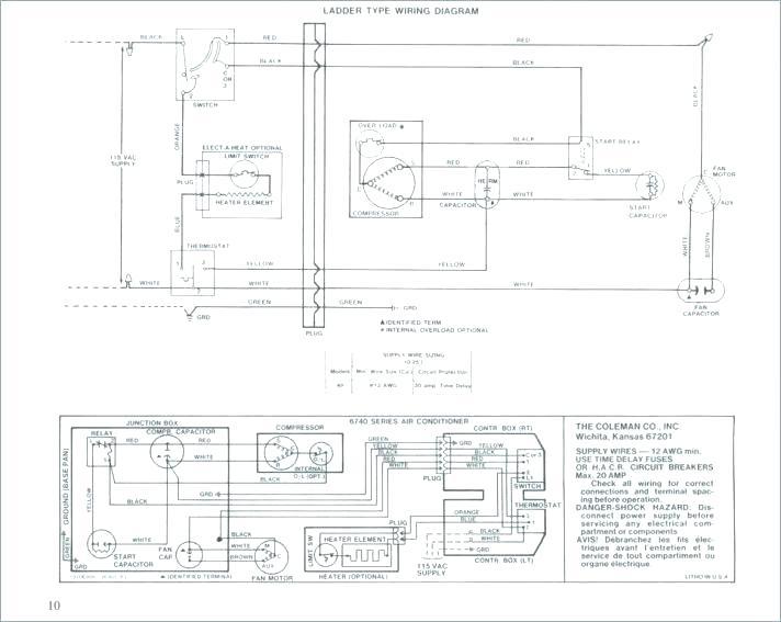 Coleman Furnace 3500a816 Wiring Diagram - Wiring Diagram