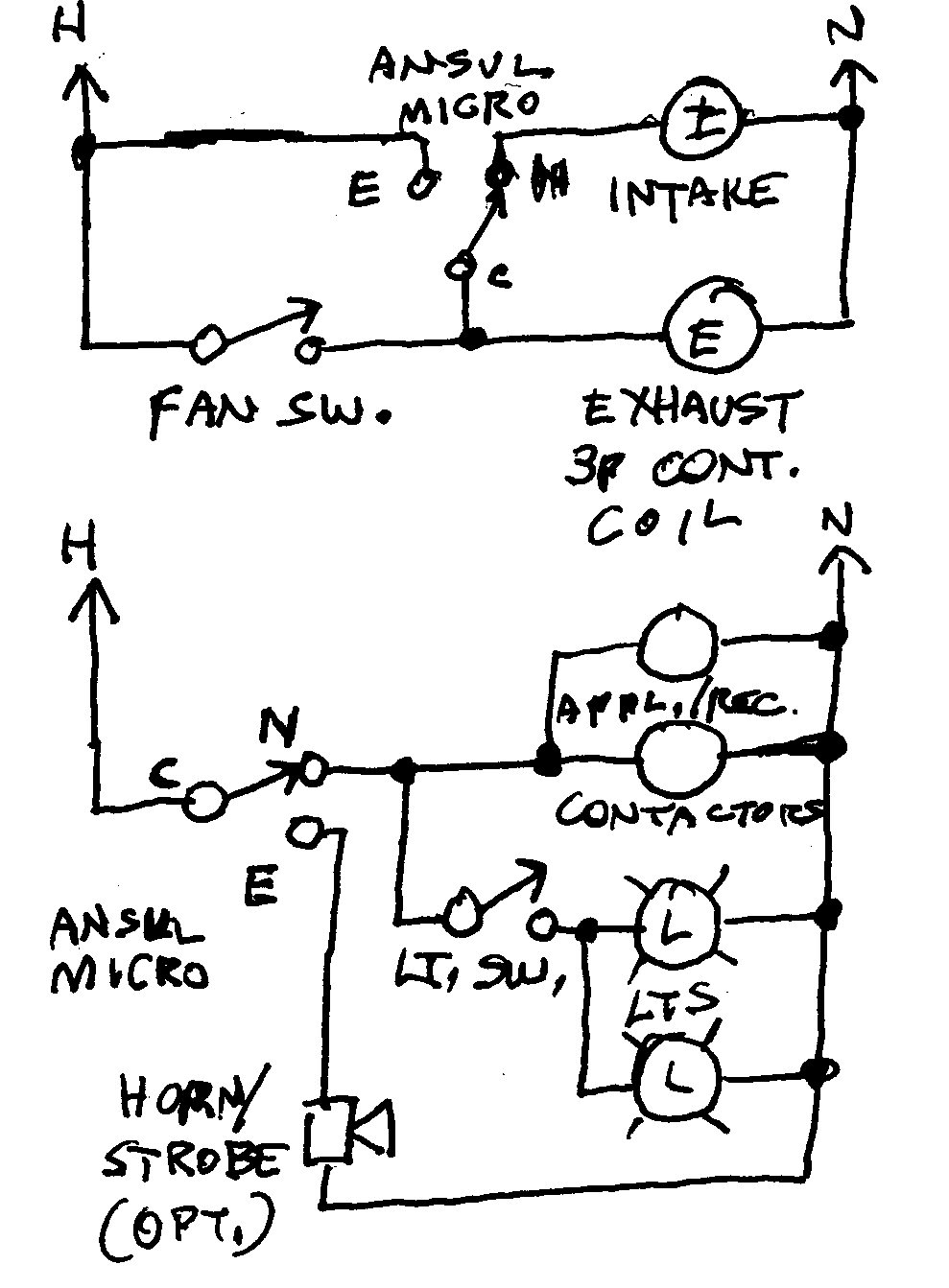 Ansul R 102 Wet Chemical Fire Suppression System Wiring Diagram