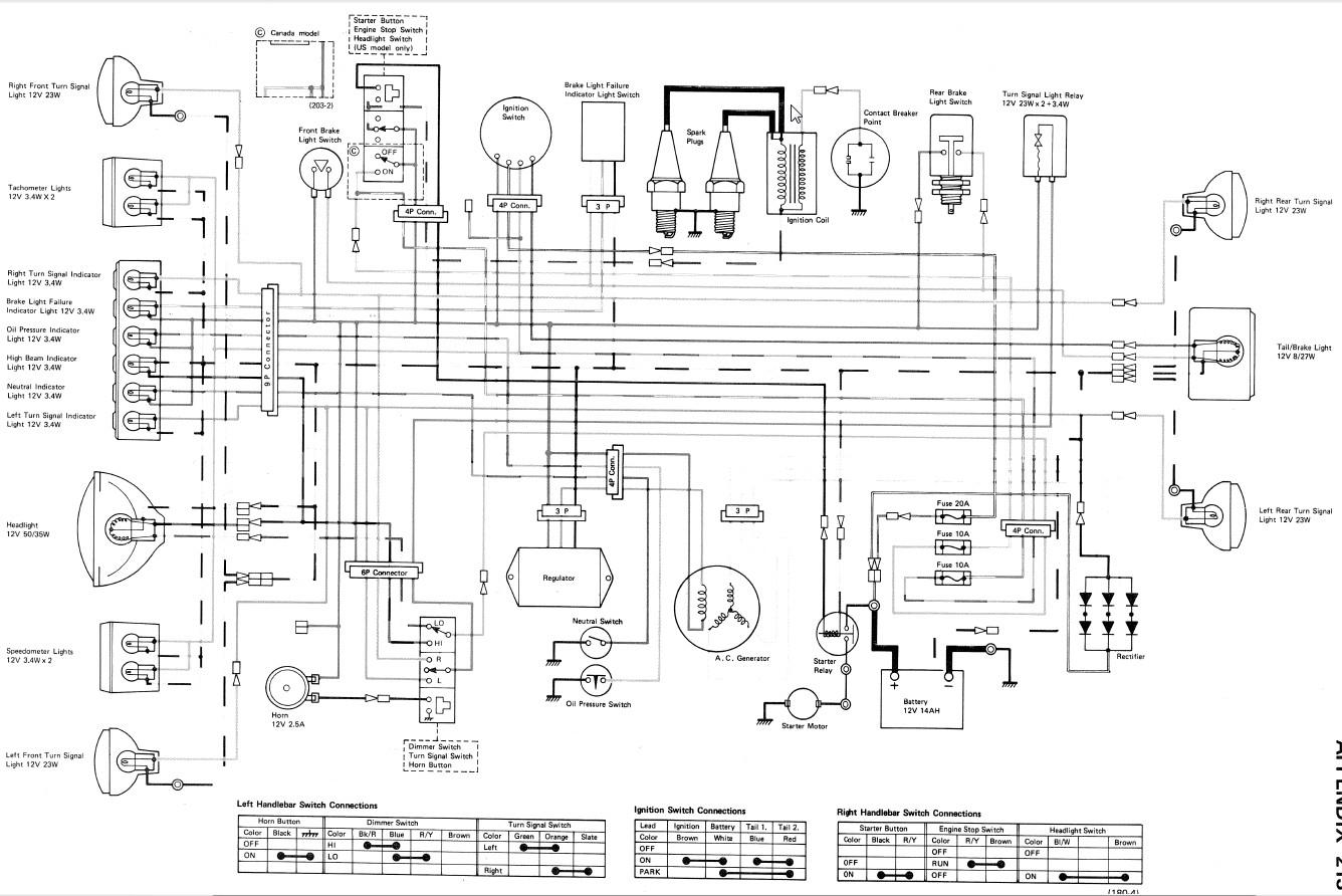 [CSDW_4250]   1978 Kawasaki 750 Wiring Diagram - Wiring Diagrams Data | Kz750 Four Wiring Diagram |  | eclat-de-joie.fr