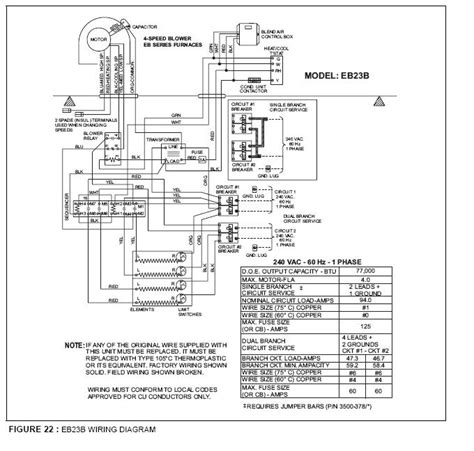 coleman evcon electric furnace wiring  refrigerator wiring