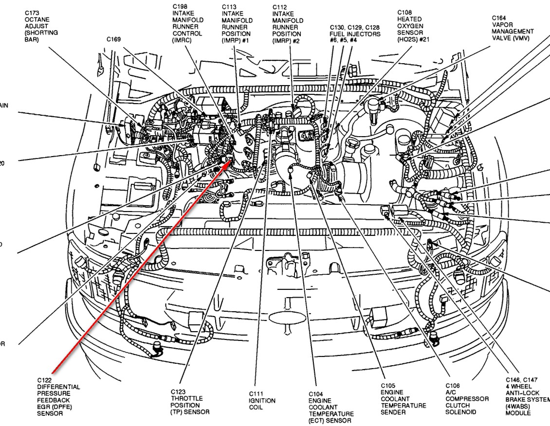 2011 ford econoline wiring diagrams motor rn 6257  1994 ford ranger ignition diagram wwwjustanswercom  1994 ford ranger ignition diagram