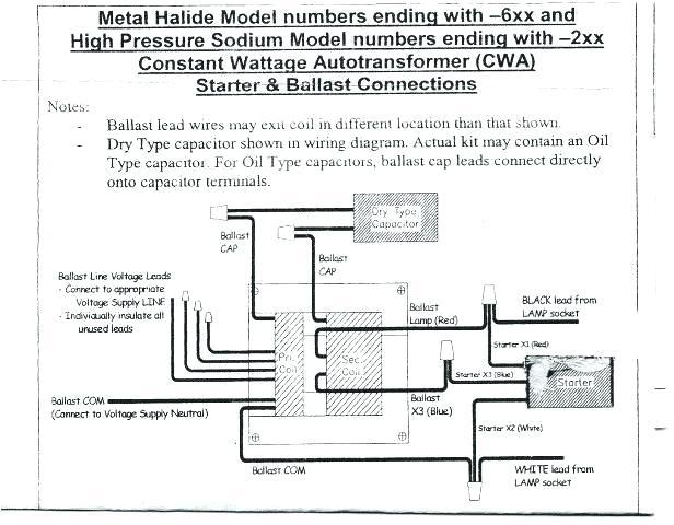 100 watt hps ballast wiring diagram  style 4 flat trailer