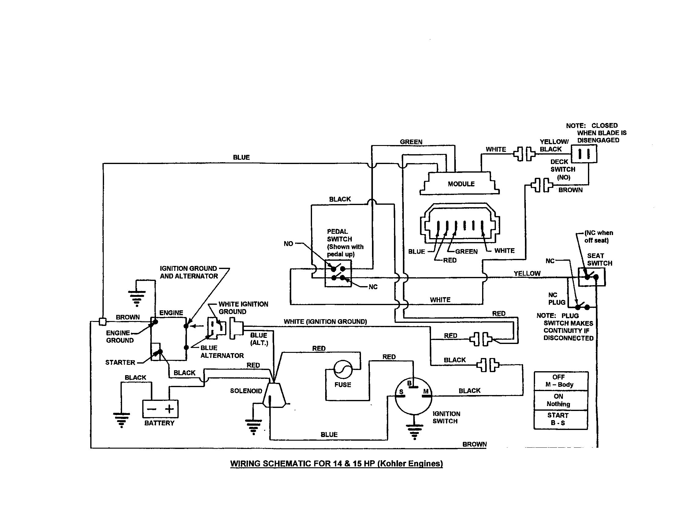 Snapper Solenoid Wiring Schematic - Wiring Diagrams DataUssel