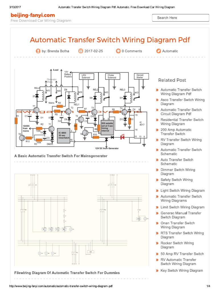 Automatic Transfer Switch Wiring Diagram Free from static-assets.imageservice.cloud