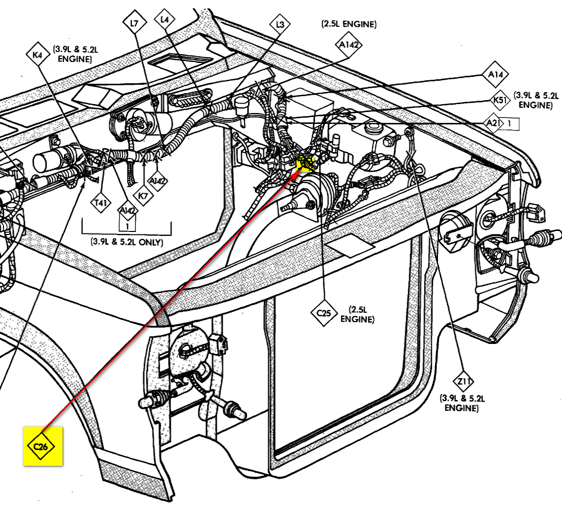 1997 Dodge 3 9 Engine Diagram 1987 Dodge Dakota Wiring Diagram Basic Wiring Tukune Jeanjaures37 Fr