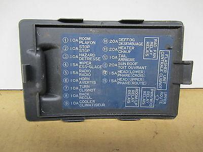 YE_3580] 92 Dodge Colt Fuse Box Cover Wiring DiagramTarg Eumqu Omit Lotap Mohammedshrine Librar Wiring 101