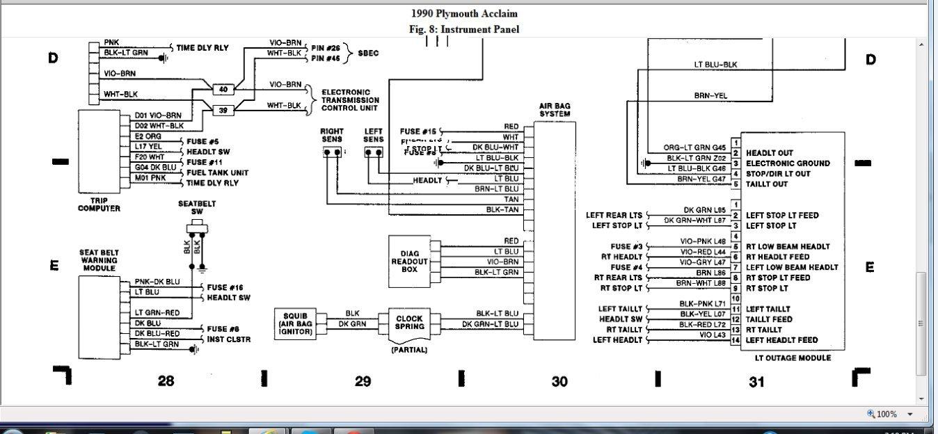 Plymouth Acclaim Fuse Box Best Wiring Diagrams Nut Igno A Nut Igno A Ekoegur Es